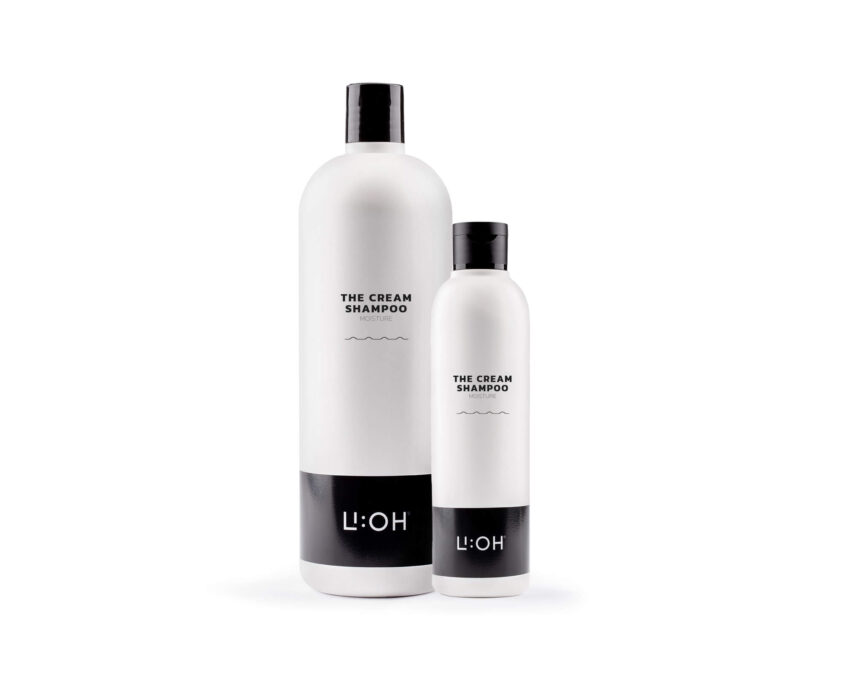 The Cream Shampoo 250ml/1000ml - LI:OH Products